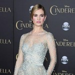 Lily James' pricey Cinderella shoes