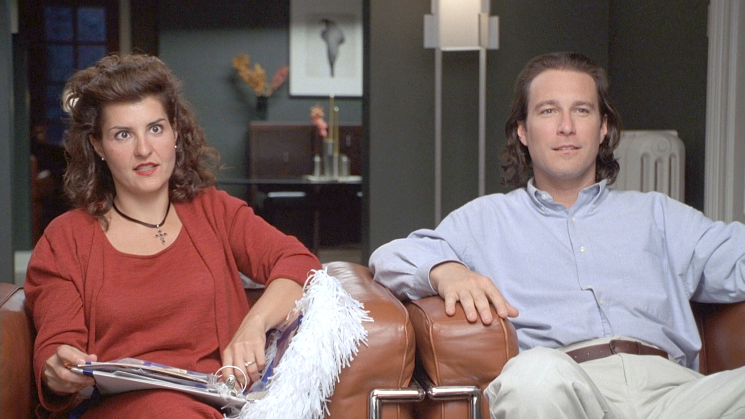 A young Greek woman (Nia Vardalos) goes against family traditions when she falls in love with a non-Greek man (John Corbett). Traditions are important, but sometimes you just have to follow your heart. If you're curious to know how things turned out for Toula and Ian, there's a sequel in the works.