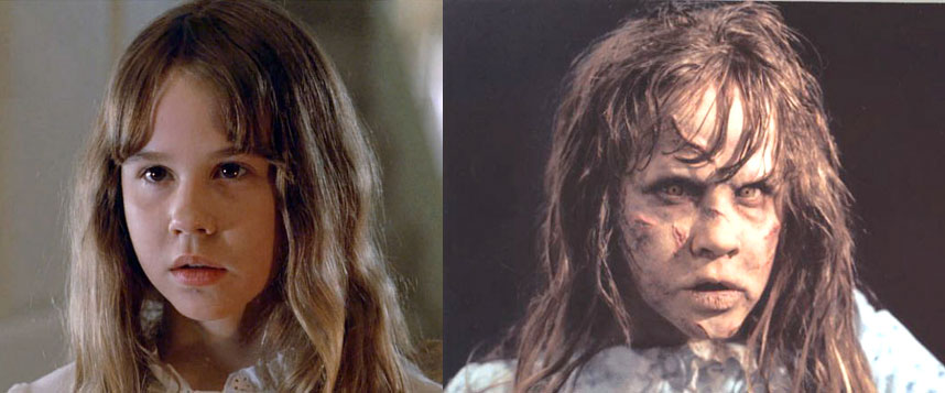 Probably the most terrifying on our list is Linda Blair's transformation in The Exorcist. Even if you don't admit it, you know that demonic face gave you nightmares and maybe scarred you just a little. Throughout the movie, she gets farther and farther from the image of an innocent young girl, transforming into a hellish-looking […]