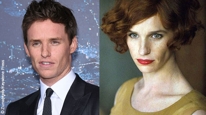 Although the film won't be released until 2016, Eddie Redmayne has fully committed to his new role as a transgendered man in The Danish Girl. The look is so believable, you have to do a double take to even begin to recognize him.