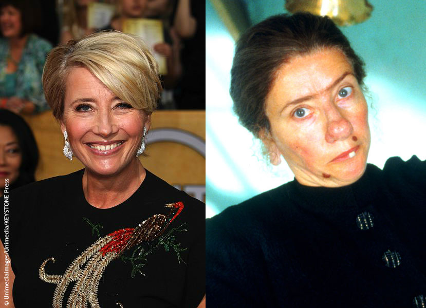 Unlike most of the transformations on this list, Emma Thompson's role as Nanny McPhee (2005) wasn't as lengthy, only taking two hours, but it definitely was dramatic. To go from gorgeous to gruesome, Emma sported frizzy hair, a bulbous, potato-like nose, a giant wart and a protruding tooth. The transformation was so believable that the […]