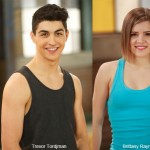 The Next Step stars Trevor Tordjman and Brittany Raymond talk dance