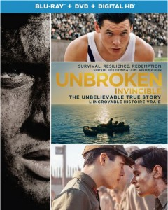 Unbroken on Blu-ray and DVD