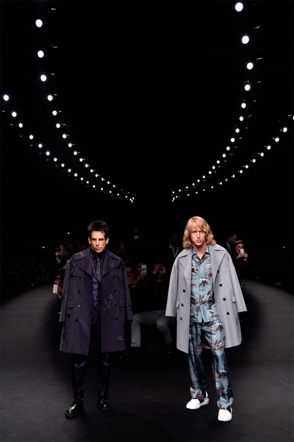 Zoolander 2 - Ben Stiller and Owen Wilson at Paris Fashion Week