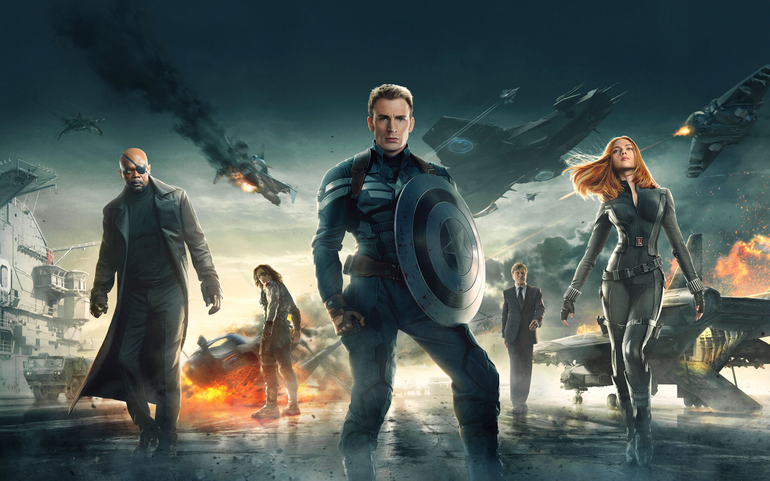 Chris Evans stars as Captain America in this fan favorite film. Better than the first film in the series, Captain America teams up with Black Widow in order to take on the assassin known as the Winter Soldier. With a good conspiracy theory in the plot and good action sequences, Captain America: The Winter Soldier […]