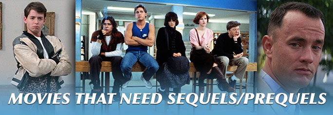 Have you ever watched a movie and anticipated a sequel – or prequel – only for it to never happen? You're not alone. We've compiled a list of movies that never got sequels, even though they probably should have. ~Sandra D. Sukraj