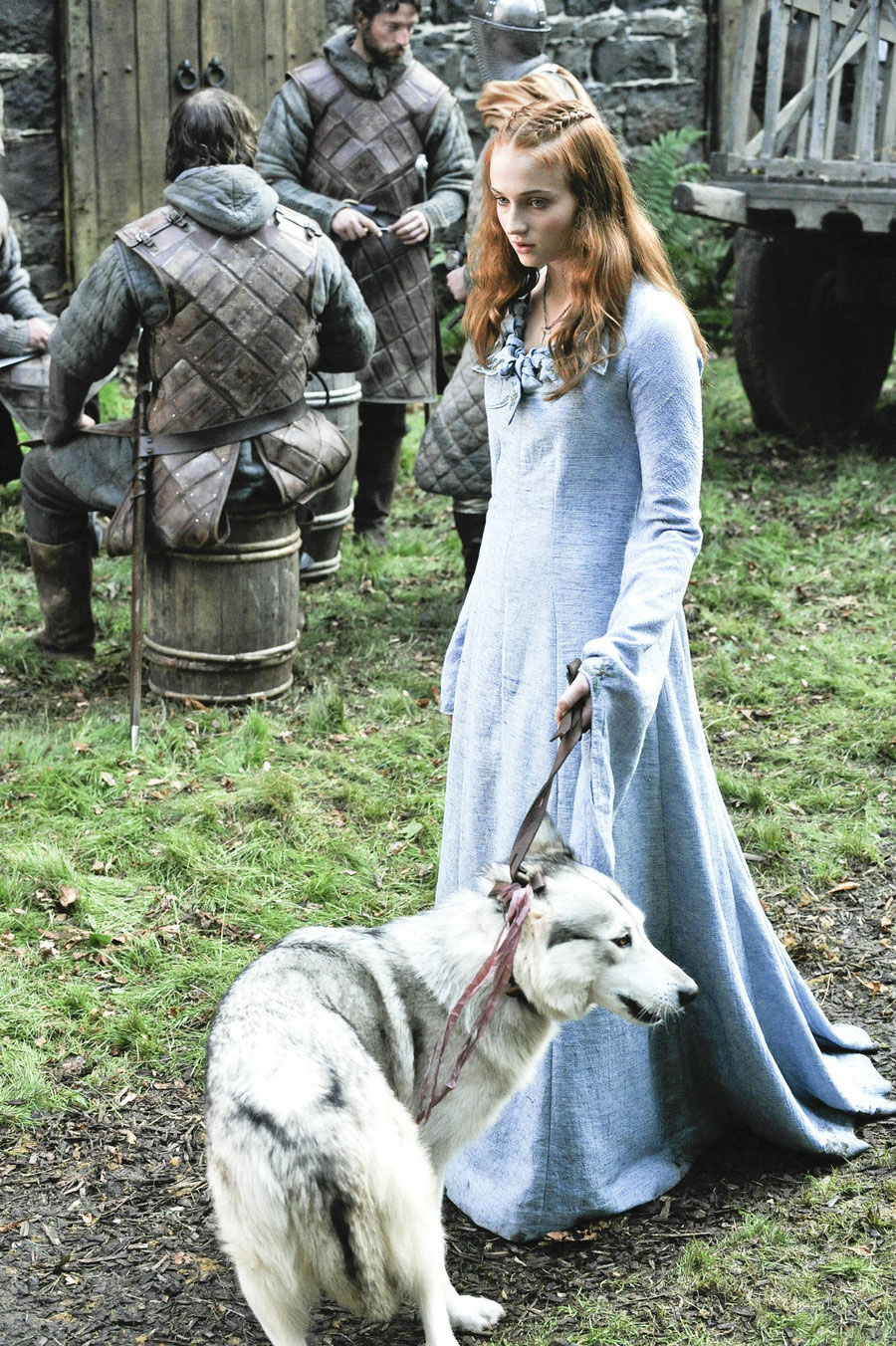 In Season One, Lady was sentenced to death by King Robert Baratheon. Ned Stark had to fulfill the duty of putting the dog to rest, which broke everyone's heart. The direwolves were introduced in the very first episode of the show—everyone loves man's best friend.