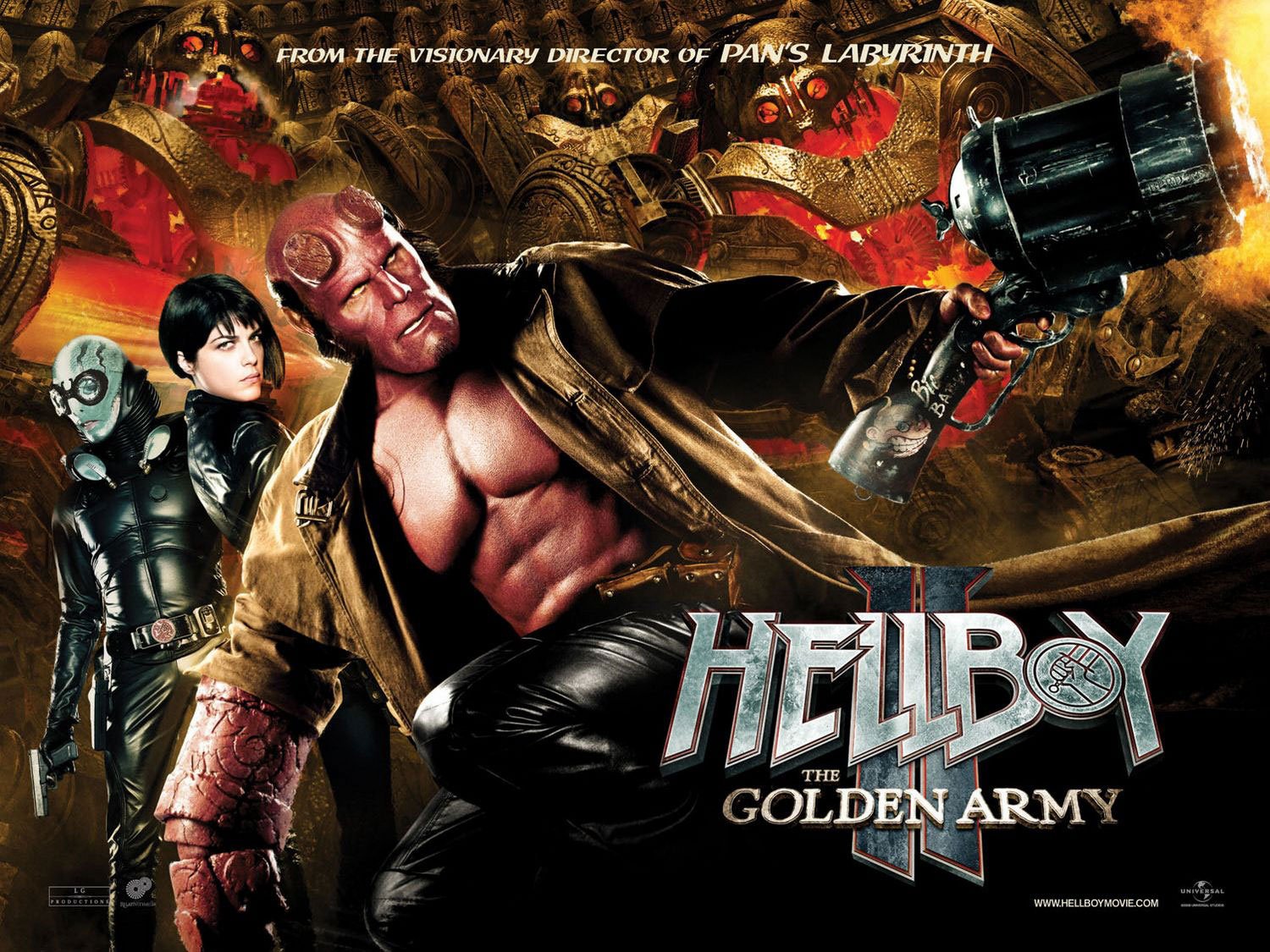Hellboy II: The Golden Army is one of the most wild superhero films with a unique plot and crazy characters. A mix of monsters and creatures come together to help the government fight off an evil monster who wants to destroy the world. These characters and crazy action scenes make for an intriguing and popular […]