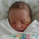 Milla Jovovich shares baby picture