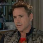 Robert Downey Jr calls interviewer a 'syphilitic parasite'