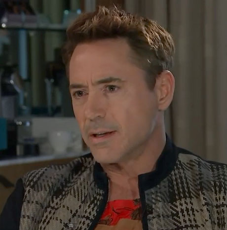 Robert Downey Jr. interview