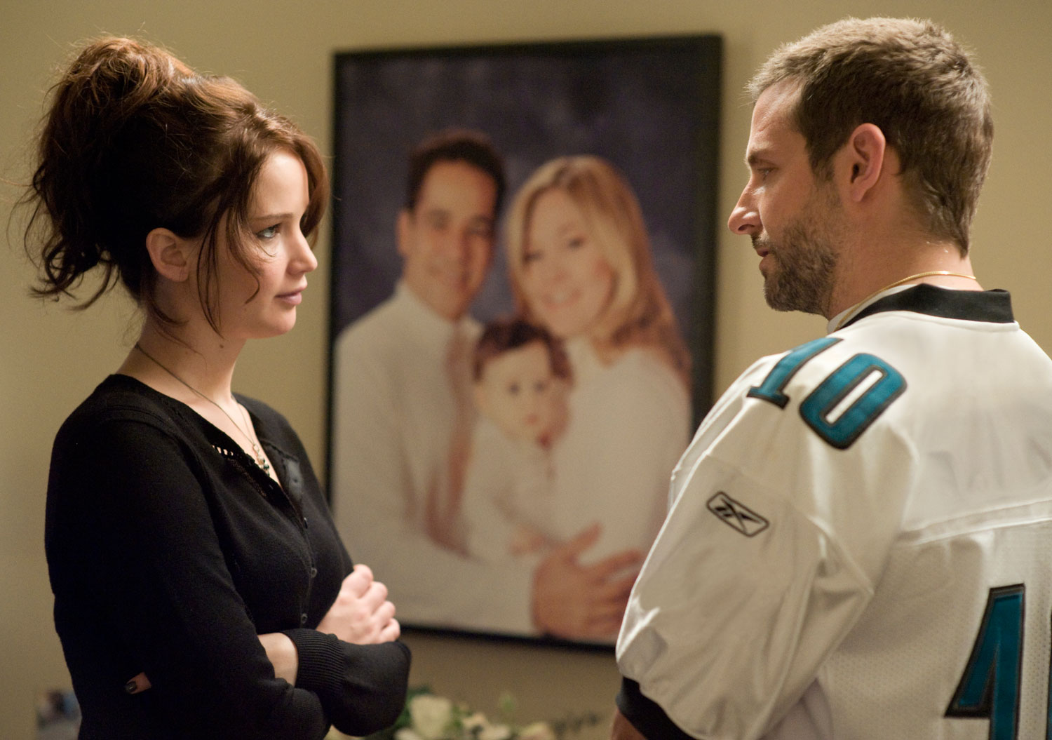 At the end of Silver Linings Playbook, Tiffany (Jennifer Lawrence) and Pat (Bradley Cooper) end up together with the open-ended possibility of a sequel. Maybe Pat's ex-wife Nikki returns and stirs up havoc for the happy couple? Or maybe Pat's dad returns to gambling and loses his newly acquired restaurant? Whatever the plot, who doesn't […]