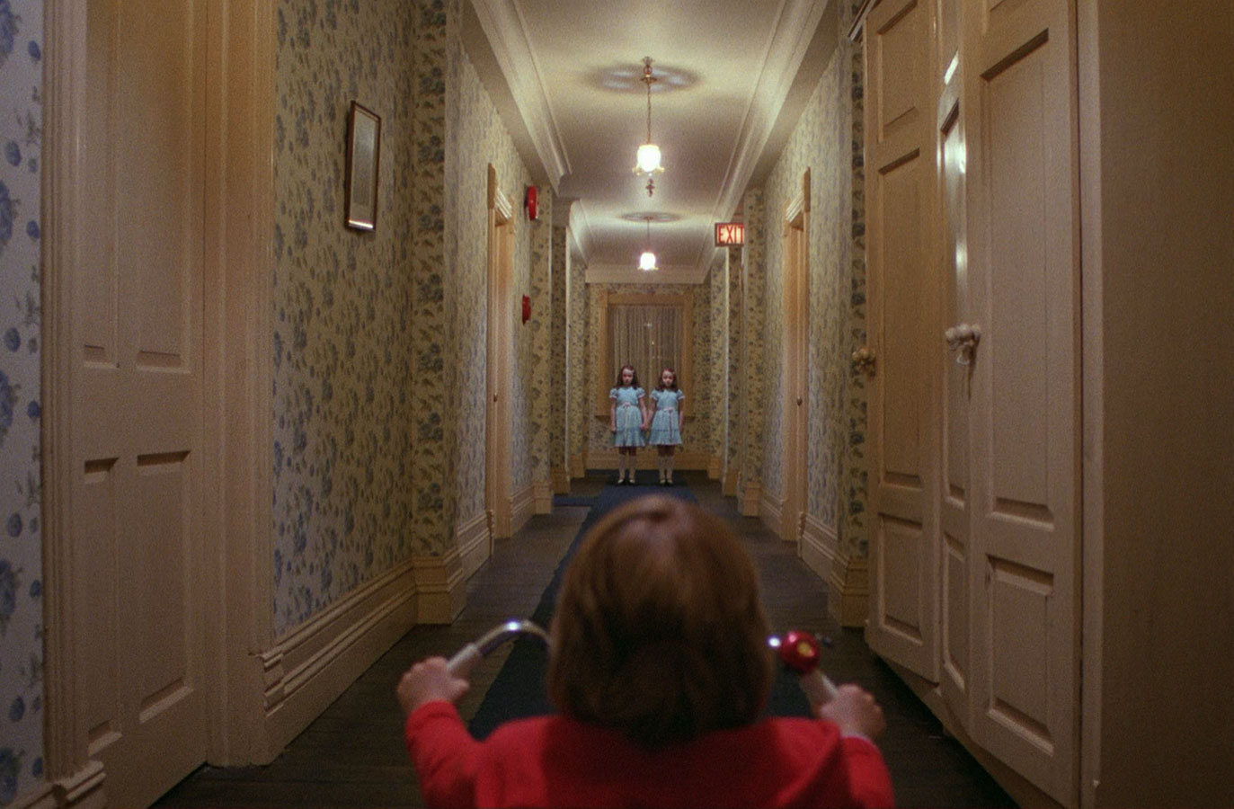 Here's Johnny! The Shining could be spun into either a sequel or a prequel. A sequel could focus on a new family being plagued by whatever haunts the hotel or a prequel could delve into what happened originally in the famed hotel to cause the occupants to go insane.