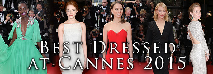 Now that the Cannes Film Festival has come to an end, it is time to look back at the best dressed celebrities at the event. Of course, the star-studded event was filled with luxurious gowns, glitz and glamour. Click through the gorgeous looks from your favorite actors and actresses. ~Erin Stewart