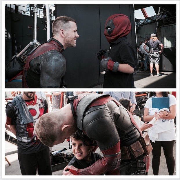 Ryan Reynolds courtesy Instagram