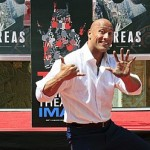 Dwayne Johnson immortalized in handprint ceremony