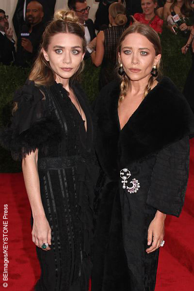 Ashley Olsen (left) and Mary-Kate Olsen