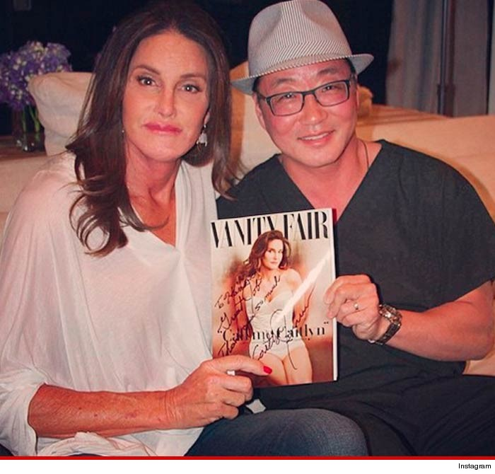 Instagram photo of Caitlyn Jenner and Dr. Lee