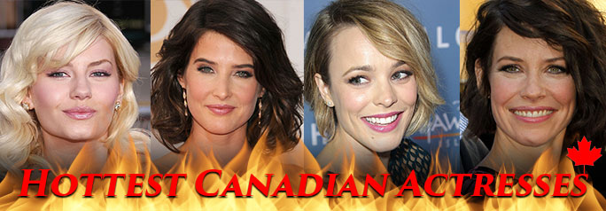 Canada has a reputation as being cold and boring. In this gallery we're going to take a look at what makes Canada for exciting and hot. Take a look at some of Canada's hottest female celebrities. ~Greg Chisholm