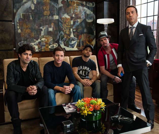 Entourage cast