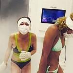 Lindsay Lohan undergoes cryotherapy treatment