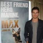 Robbie Amell dishes on playing U.S. marine in family film Max