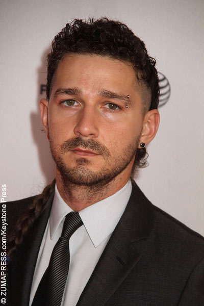 ... Shia LaBeouf sustained a massive head injury and had to be rushed to