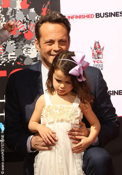 Vince Vaughn with daughter Locklyn Kyla