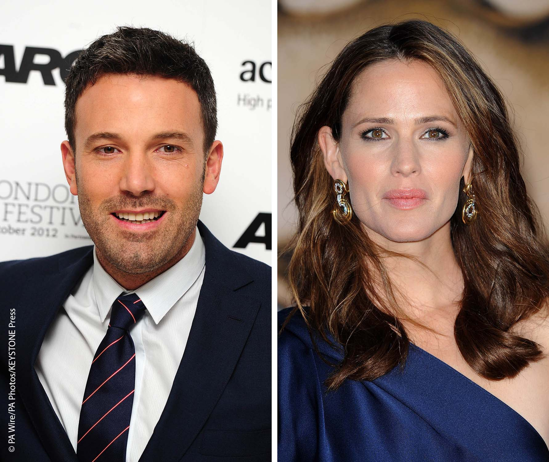 Affleck and Garner split