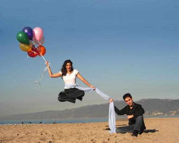 Michael Grandinetti - Santa Monica Beach Levitation