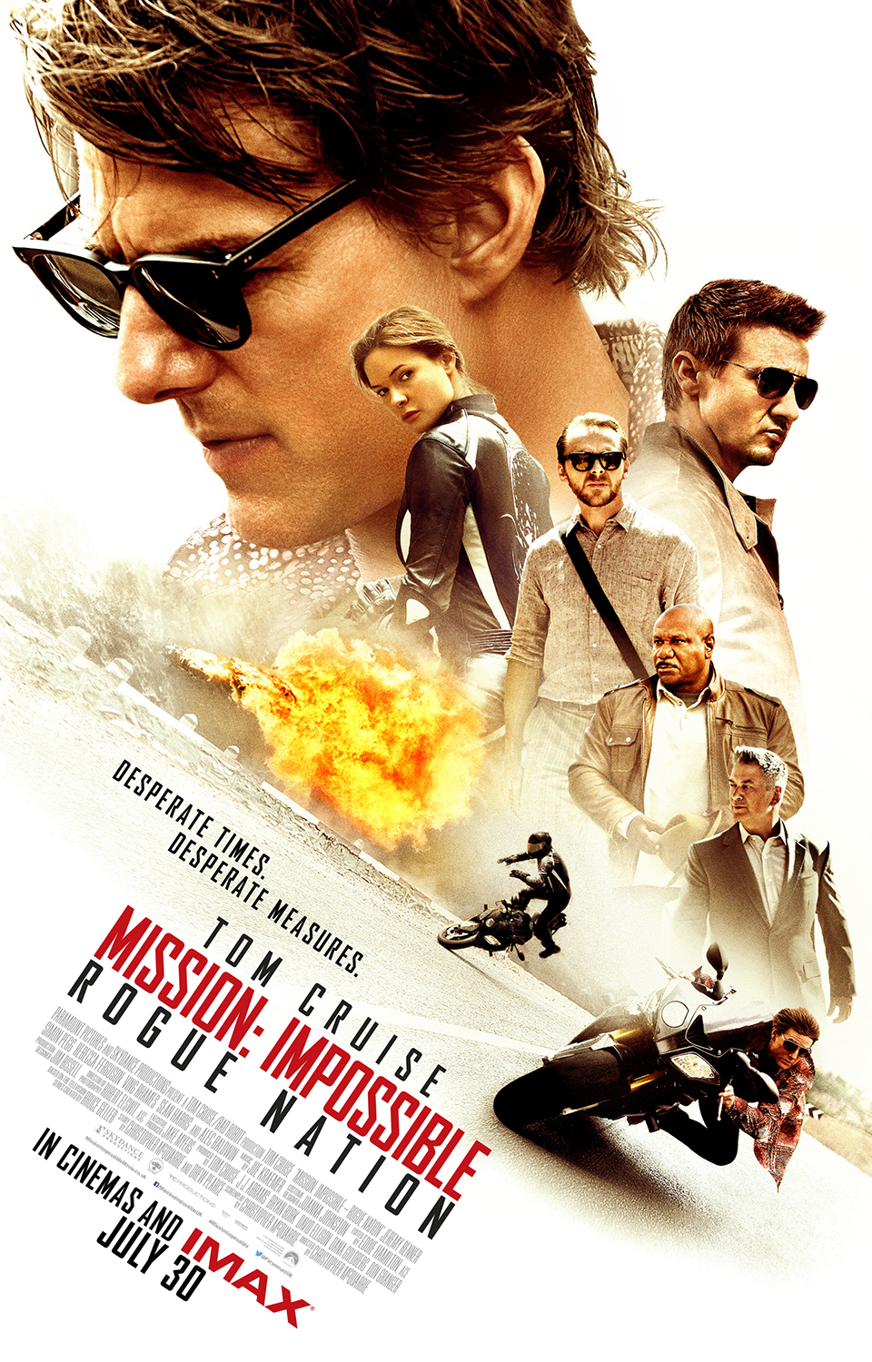 New releases include Mission: Impossible - Rogue Nation, Vacation and more