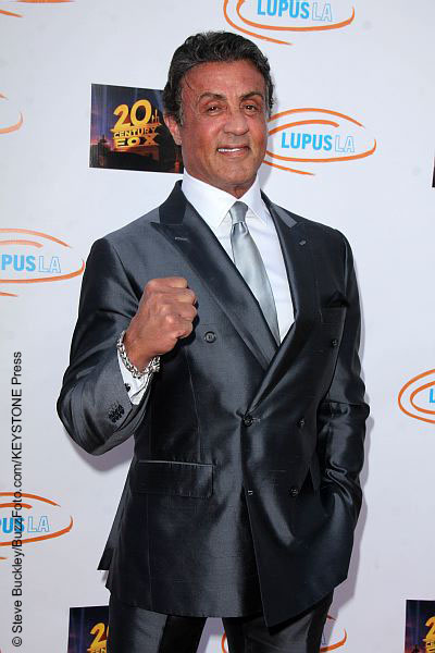 Sylvester Stallone at the Lupus LA Orange Ball