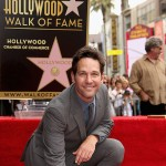 Paul Rudd receives star on Hollywood Walk of Fame