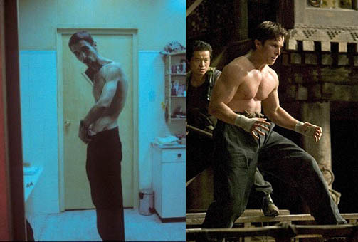 Christian Bale has been a very talented actor for decades now. He is a chameleon willing to go to extremes for his characters. In The Machinist (Left) he looked like nothing more than a skeleton weighing 121lbs. He lost 63lbs eating nothing but an apple a day and drinking water and coffee. A few months […]