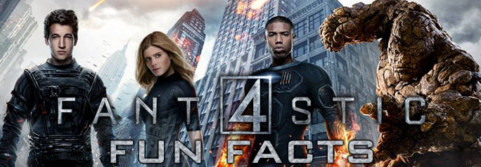 It's been eight years since the Fantastic Four have been on the big screen. While the new re-boot may not be completely loyal to the canon, the film hopes to deliver on action and story. Check out these fun facts about the movie and the comic. ~Greg Chisholm