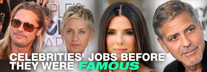 While celebrities appear to achieve superstardom overnight, most of Hollywood's successful working actors needed hard work and a lot of patience to get them up the ladder of success. Those attributes however, don't pay the bills when the acting jobs are slim to none. Check out these superstars of today and see what they did […]
