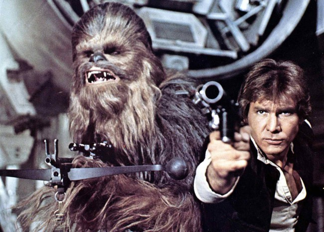 Man and dog. Man and horse. How about man and Wookiee? We were first introduced to both Han Solo (Harrison Ford) and Chewbacca (Peter Mayhew) in the 1977 movie Star Wars. As an Imperial Officer, Han refused to kill the 200-year-old Wookiee. He lost his job, became a smuggler and Chewie—to repay the debt—became a […]