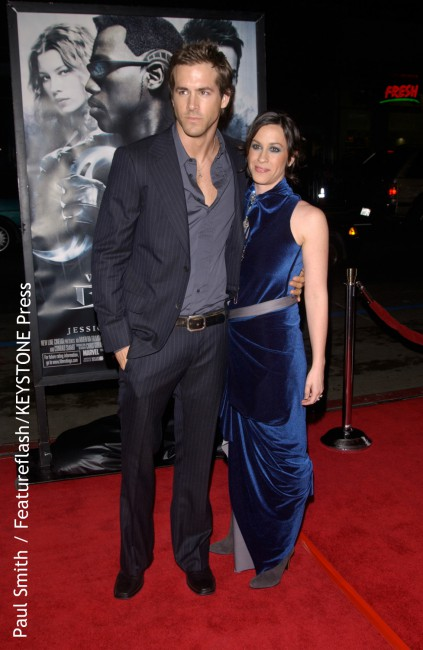 "Ryan Reynolds and singer Alanis Morissette met in 2002 at a birthday party for Drew Barrymore. In 2004, they were engaged to be married. In June 2005, Alanis said about Ryan: ""He's just such a supportive creature. I feel so loved by him, in a trampoline kind of way. He's always very happy for me."" […]"