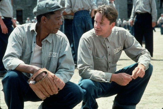 "Andy Dufresne (Tim Robbins) comes to Shawshank State Prison to serve two consecutive life terms for two murders (he didn't commit). He is befriended by Ellis Boyd ""Red"" Redding, (Morgan Freeman) a lifer who did commit murder. Andy shares his dream of living in Mexico chartering boats. After 19 years of planning, Andy escapes, but […]"