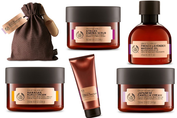 The Body Shop Spas of the World