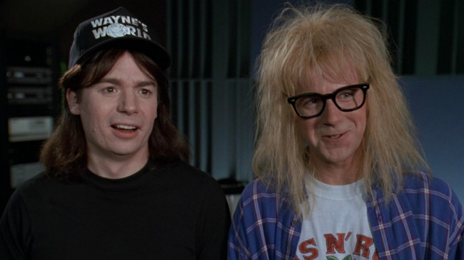 The comedy Wayne's World starred Mike Myers as Wayne Campbell, a long-haired heavy metal fan and Dana Carvey as Garth Algar, a goofy-haired anxious kind of guy,  but equally into heavy metal and most important, his best bud and sidekick. They host a public-access television cable TV show called Wayne's World. The movie was adapted […]