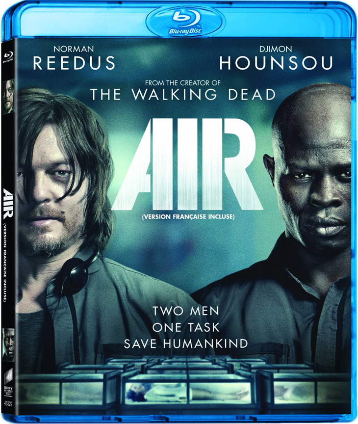 Air Blu-ray starring Norman Reedus and Djimon Hounsou