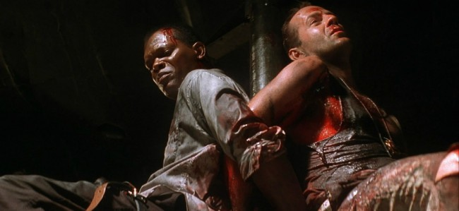 Old school cop John McClane (Bruce Willis) comes to the rescue once again in Die Hard With a Vengeance, teamingup with Harlem store owner Zeus Carver (Samuel L. Jackson) to battle terrorist Simon Gruber (brother of Hans Gruber from the original flick Die Hard), who has targeted New York City. The reluctant Zeus gets pulled […]
