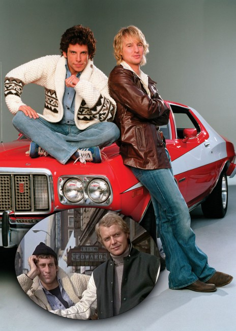 Originally a 1970's TV cop series called Starsky and Hutch, the duo were reborn in 2004 on the big screen in the spoof, Starsky & Hutch, with Ben Stiller as Starsky and Owen Wilson as Hutch, two undercover cops. Back in the day, Paul Michael Glaser starred as Starksy, the street-wise, often loud, moody and […]