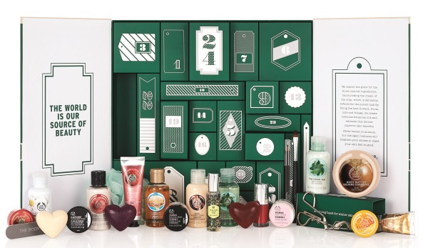 The Body Shop Advent Calender