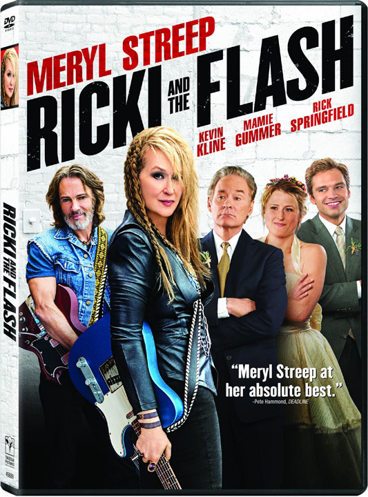 Ricki and the Flash DVD cover
