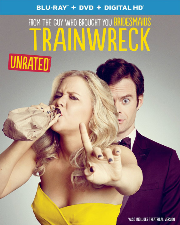 Trainwreck DVD and Blu-ray