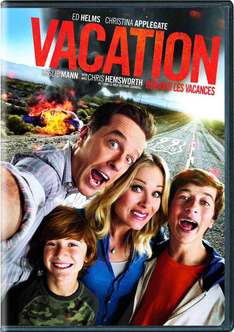 Vacation DVD cover