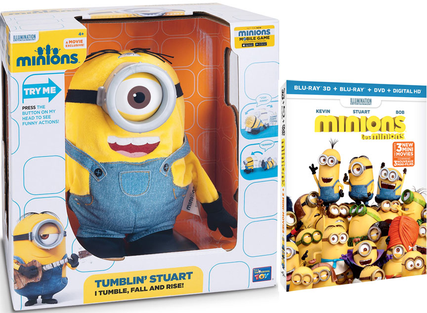 Minions giveaway