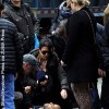 Alec Baldwin and wife help unconscious man on NYC street